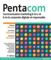 Pentacom, Communication marketing b-to-c et b-to-b, corporate, digitale et responsable