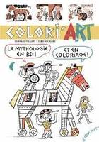 Colori'art / la mythologie en BD ! Et en coloriage !