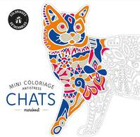 Mini coloriage antistress Chat