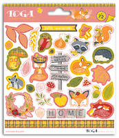 LOT DE 2 PLANCHES DE STICKERS FOXY