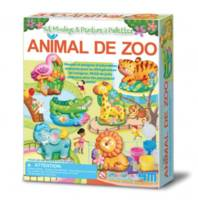 Animal de Zoo Kit de moulage