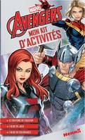 MARVEL AVENGERS - MON KIT D'ACTIVITES (BLACK WIDOW, THOR, CAPTAIN MARVEL)