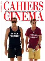 CAHIERS DU CINEMA N 714 LE VIDE POLITIQUE DU CINEMA FRANCAIS SEPTEMBRE 2015