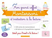Mon grand coffret Montessori d'initiation à la lecture