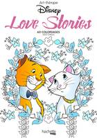 Love stories Disney, Mini blocs coloriages