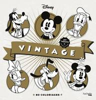 Les coloriages Disney Vintage, 80 coloriages