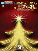Christmas Carols - Trumpet: 10 Holiday Favorites, Easy Instrumental Play-Along Book with Online Audio Tracks