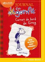 Journal d'un degonfle 1 : Carnet de bord de Greg : 1 cd Mp3