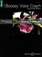 The Boosey Voice Coach, Singing in English
