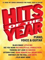 Hits Of The Year 2015 PVG, 21 Huge hit songs arranged for Piano, Voice & Guitar