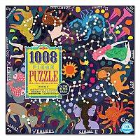 Puzzle - Zodiac - 1000 pièces - Golw in the dark