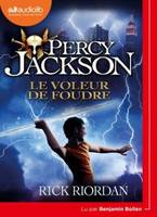 1, Percy Jackson 1 - Le Voleur de foudre, Livre audio 1 CD MP3