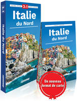 Italie du Nord / 3 en 1 : guide + atlas + carte
