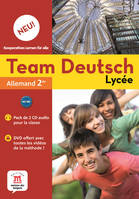 TEAM DEUTSCH NEU LYCEE 2NDE - PACK  CD AUDIO CLASSE + DVD