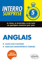 Anglais 5e, cycle 4