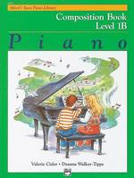 Alfred's Basic Piano Library Composition Book 1B