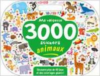 MA VALISETTE 3000 STICKERS ANIMAUX
