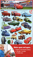 Cars magic play stickers
