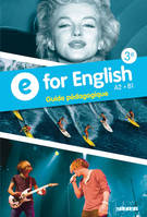 E for English 3e - Guide pédagogique - version papier