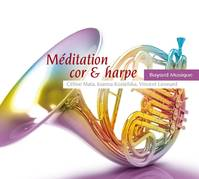 Meditation cor et harpe CD