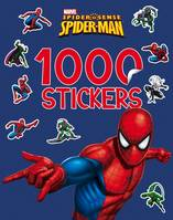 1000 stickers Spiderman