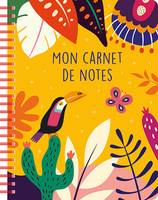 Mon carnet de notes (tropical yellow)