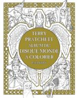 Terry Pratchett / un album du Disque-monde à colorier