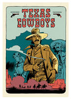 Texas cowboys, Coffret