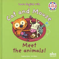 Meet the Animals ! - Cat and Mouse - (Book + CD)