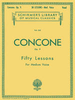 50 Lessons, Op. 9, Schirmer Library of Classics Volume 242