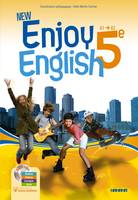New Enjoy English 5e - Manuel + DVD-rom, Elève+DVD-Rom