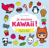 Je dessine kawaii !, Plus de 80 dessins étape par étape
