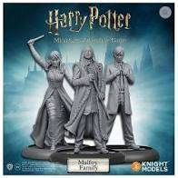 harry potter figurine 35mm adventure pack malfoy family