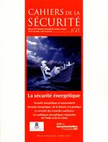 LA SECURITE ENERGETIQUE - CS N 21