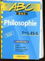 Philosophie, Term. L-ES-S
