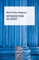 Introduction au droit, « Que sais-je ? » n° 1808