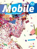 Mobile 2 niv.A2 - Livre + CD audio + DVD