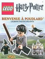 Lego Harry Potter / bienvenue à Poudlard : l'album d'autocollants