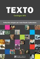 CATALOGUE TEXTO 2012