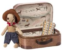 Cowboy dans une valise Little brother mouse