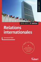 RELATIONS INTERNATIONALES 5E EDT
