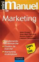 Mini Manuel de Marketing, cours + exos