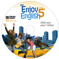 New Enjoy English 5e - DVD-rom élève de remplacement