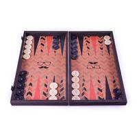 backgammon Handmade Wooden  printed Hipster style