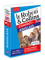 Dictionnaire Le Robert  Collins Compact Plus Anglais
