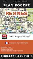 Rennes Plan Pocket