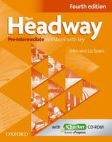 New Hedway pre-intermediate workbook answer key and checker CD-ROM, Ex+corr+CD