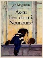 AS TU BIEN DORMI, NOUNOURS?