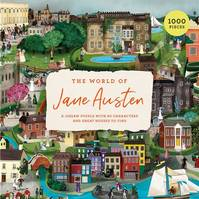 The World of Jane Austen A Jigsaw Puzzle /anglais