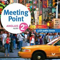 MEETING POINT ANGLAIS 2DE ED. 2010- 3 CD AUDIO CLASSE